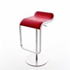 LEM H67 réglable cuir rouge