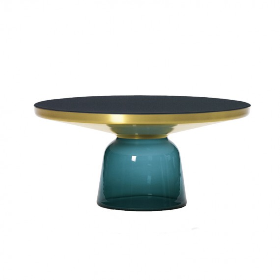 Classicon Table d apppoint Bell coffee table Emeraude