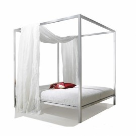 Lit ALUMINIUM BED Baldaquin