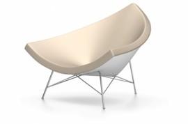 Coconut Chair Cuir sable