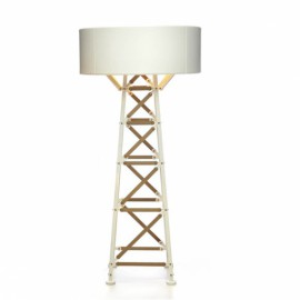 CONSTRUCTION LAMP large Blanc