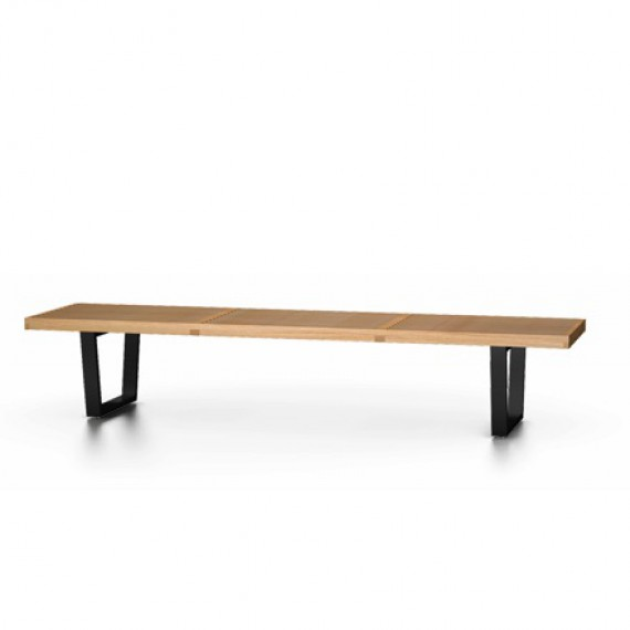 bancs nelson bench grand mod le vitra. Black Bedroom Furniture Sets. Home Design Ideas