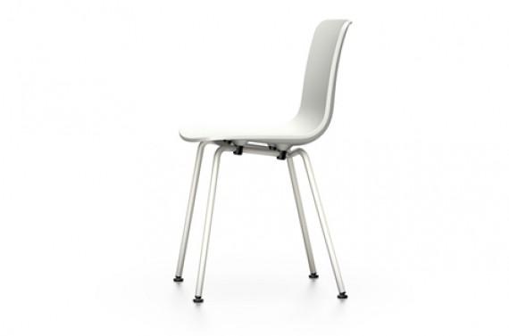 Chaise vitra hal tube epoxy ivoire blanc - Chaise blanc d ivoire ...