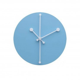 Dotty Clock - Turquoise