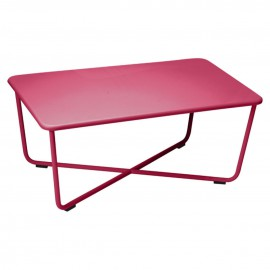 Table basse CROISETTE - rose praline
