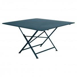 Table carrée CARGO - bleu acapulco