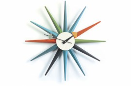Sunburst WALL CLOCKS Multicolore