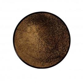 Plateau Heavy aged bronze