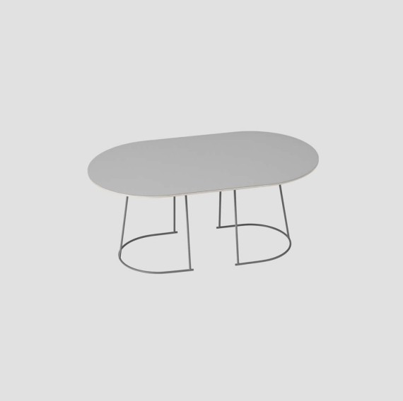 Airy Basse Gris Table Muuto Moyenne 3LqAjc54RS