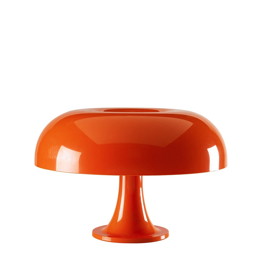 lampe poser artemide nessino orange. Black Bedroom Furniture Sets. Home Design Ideas
