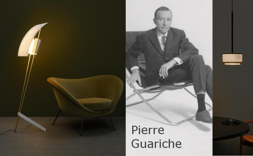 Rééditions de luminaires de Pierre Guariche