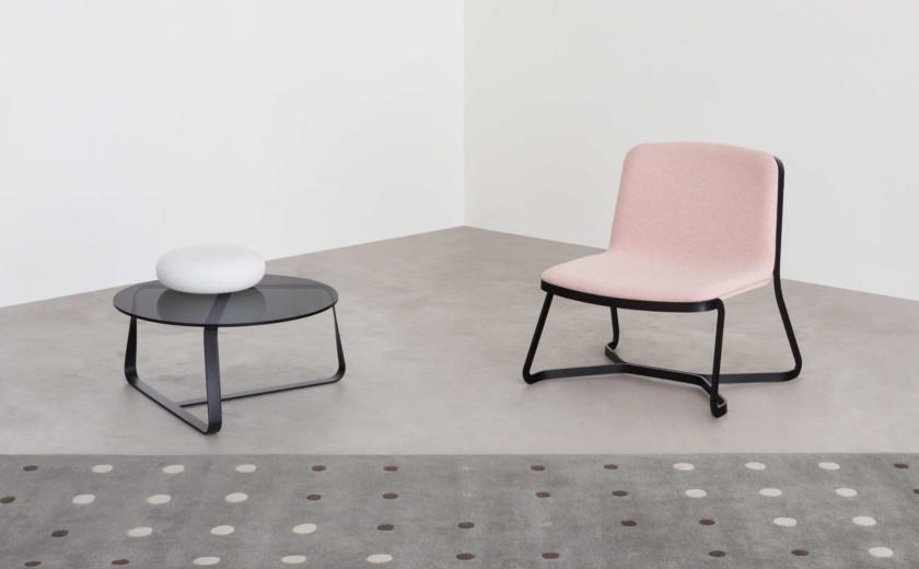 Fauteuil PATH et table TWISTER