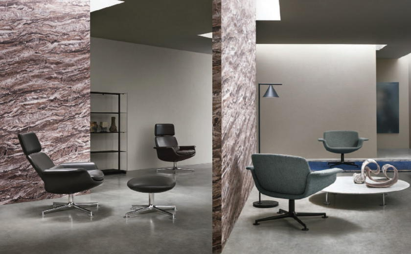 Collection de fauteuils KN