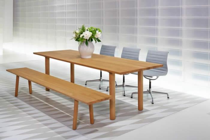 Table et Banc Wood