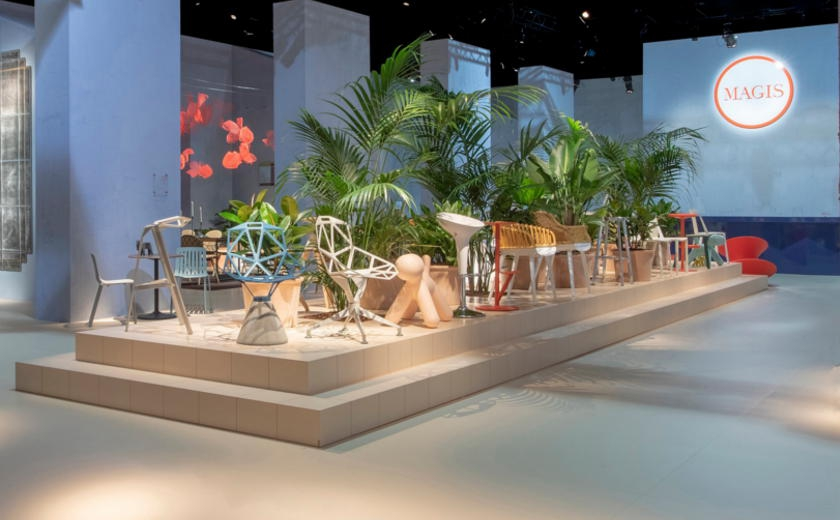 Nouveautés Magis au Salon du meuble de Milan