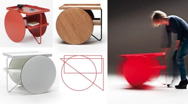 casamania desserte chariot quartz design. Black Bedroom Furniture Sets. Home Design Ideas