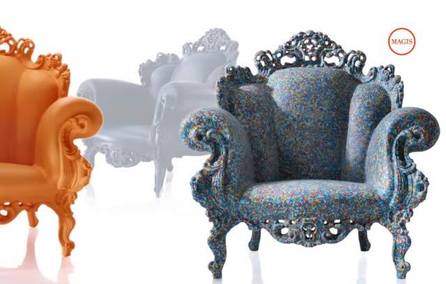 Magis fauteuil proust quartz design for Fauteuil proust