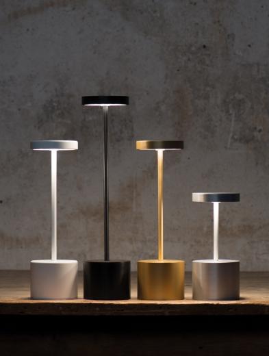 Lampes rechargeables IN SITU et LUXCIOLES  de HISLE