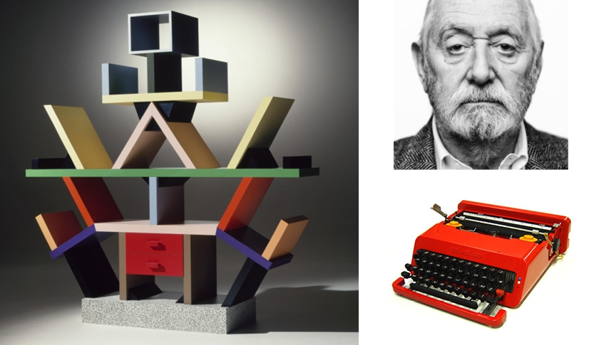 Une collection exclusive Ettore Sottsass