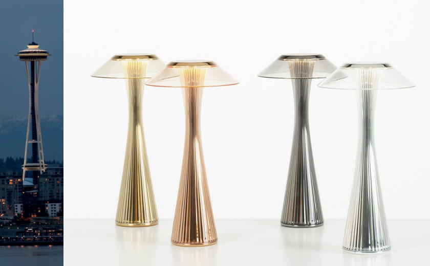Lampe nomade Space