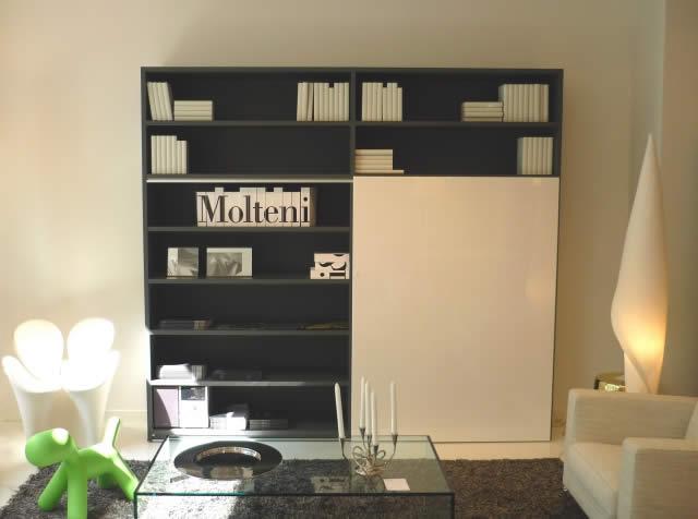 Molteni bibliotheque 505 quartz design for Meubles molteni