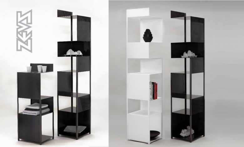 zeus bibliotheque colonne tito quartz design. Black Bedroom Furniture Sets. Home Design Ideas
