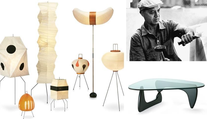 NOGUCHI Isamu, Le sculpteur de lumière au multiples talents.