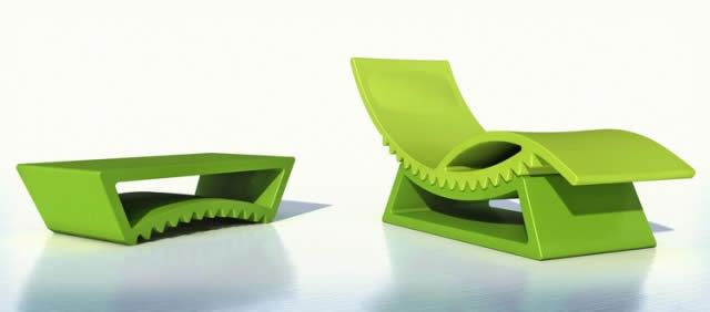 Chaise longue TIC TAC