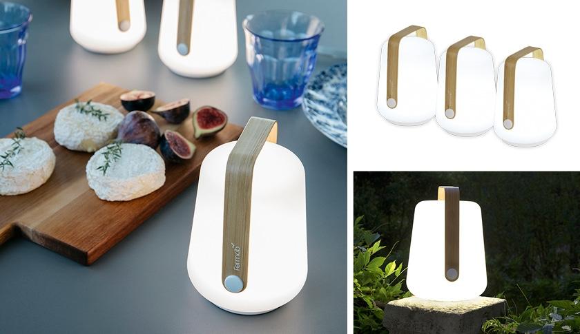 Nouveauté Lampe Balad de chez Fermob version Bamboo