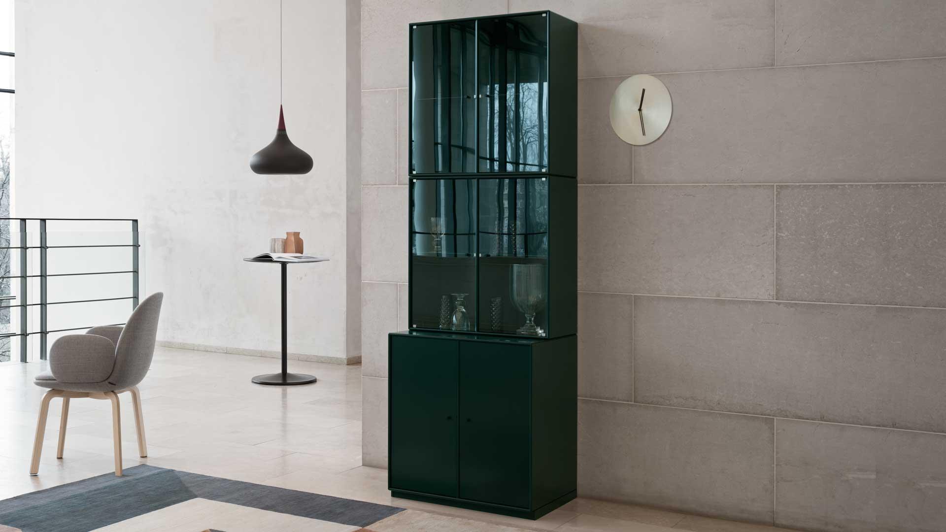 Armoire vitrée Design par Peter J. Lassen