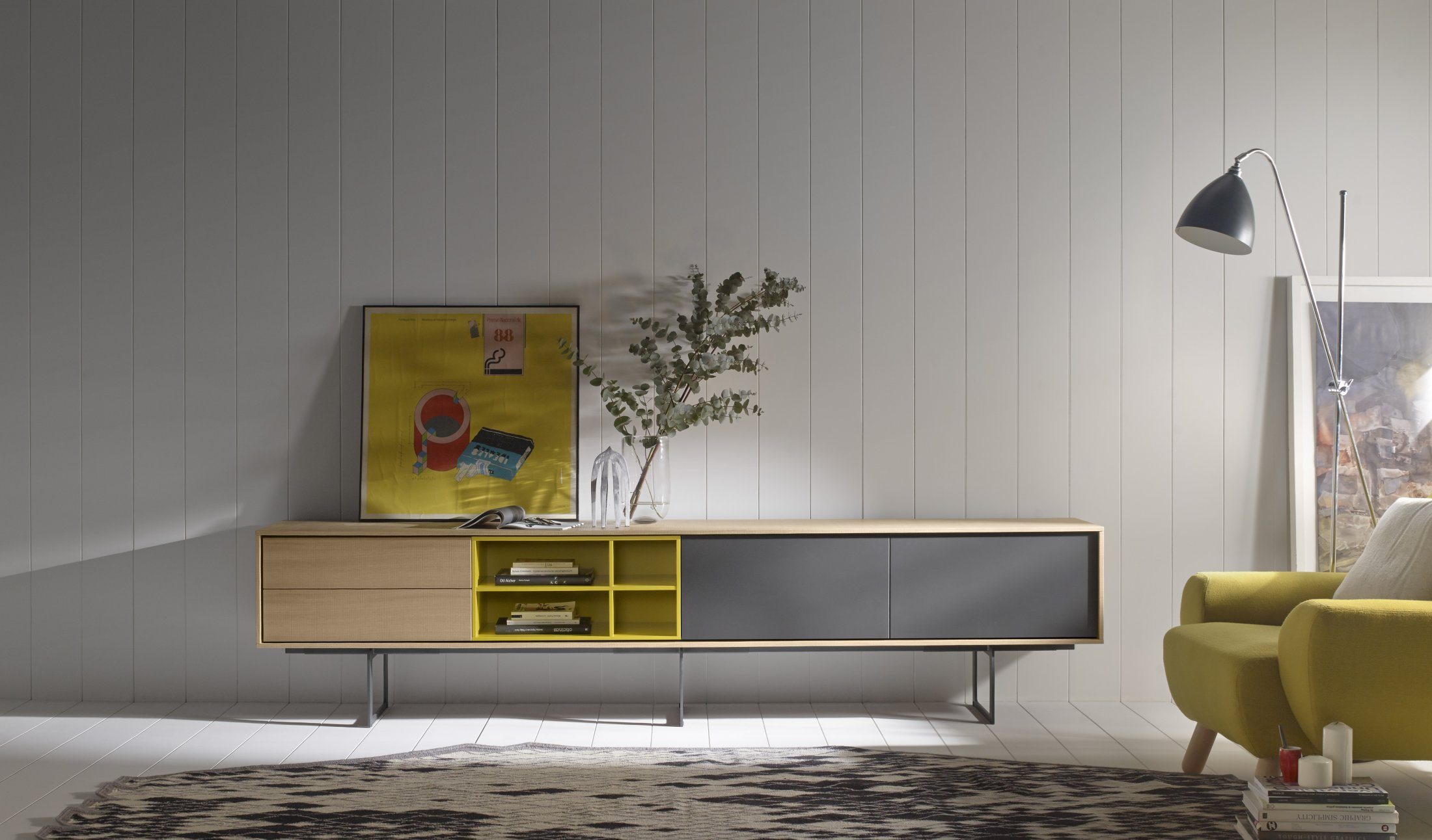 Meubles TV AURA design par A. Martí & E. Delamo